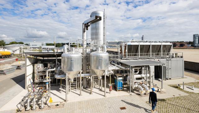 Anlagen für Aufbereitung und Einspeisung von Biogas