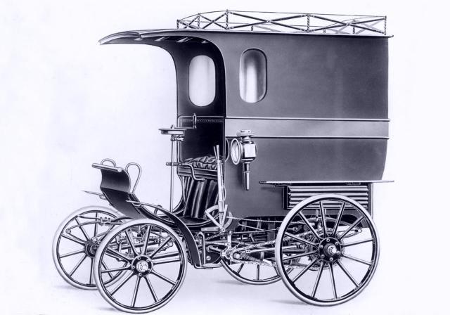 Gepäckwagen System Lutzmann