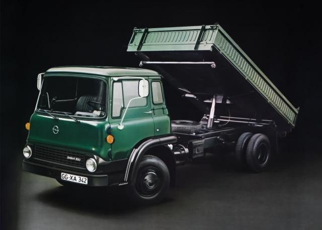 Opel Bedford Blitz Kipper