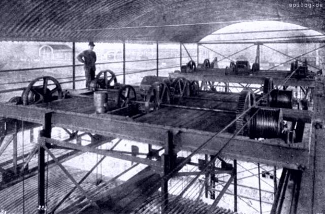 Der elektrische Antrieb des Hebewerks