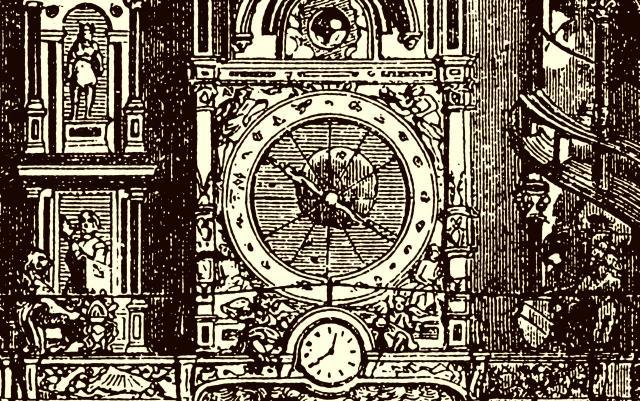 astronomische Uhr in Straßburg