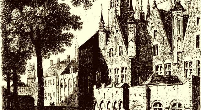 Der Justizpalast zu Brügge